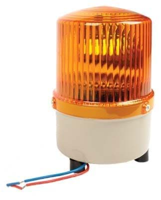 Picture of Strobe light, rotate, amber 12 v